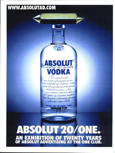 Absolut  Vodka- Publicidades creativas