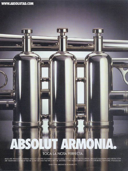 Like Absolut Jazz, Armonia means Harmony in spanish.