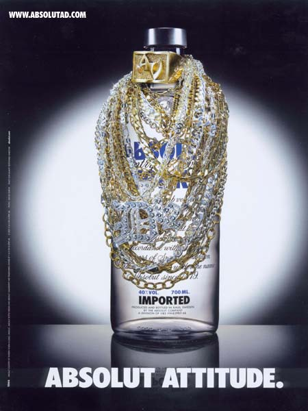 Bottle covered in jewlery