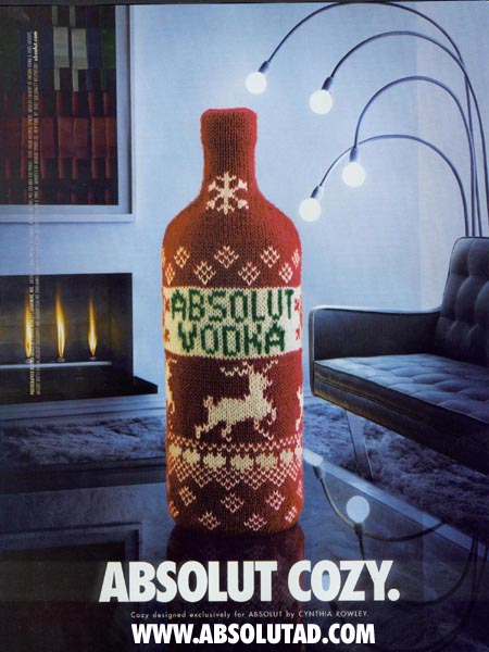 Tipos de Absolut Vodka