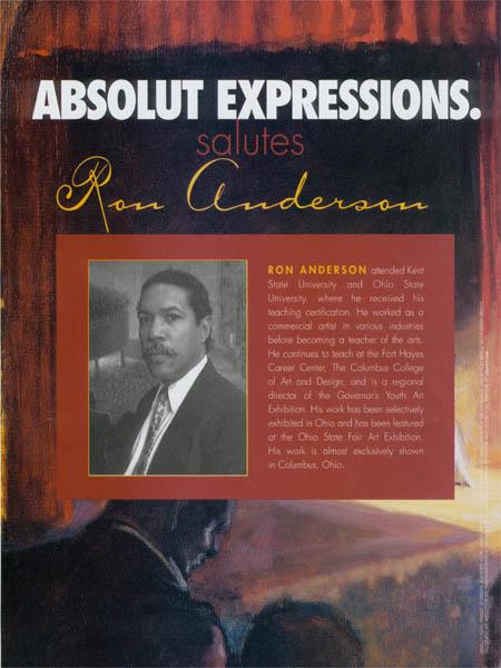 Bio of Ron Anderson.