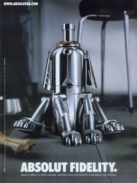 Robot bottle dog