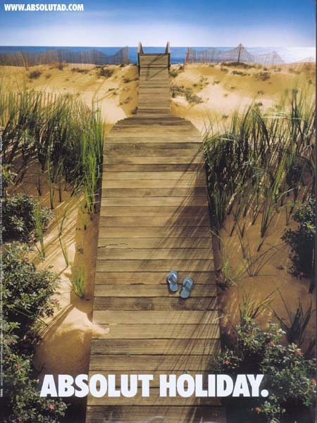 Boardwalk going up to beach