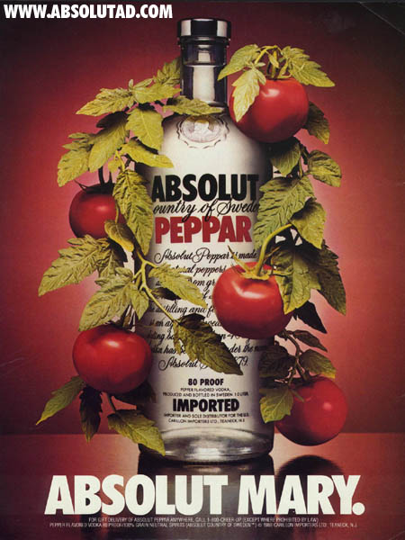 mary Absolut Vodka