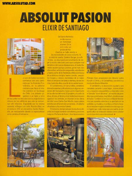 Info about Santiago